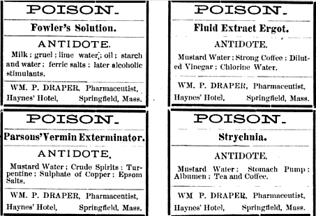 Wait, turpentine is an ANTIDOTE to POISON?!
