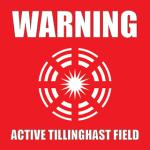 Tillinghast Field Sticker