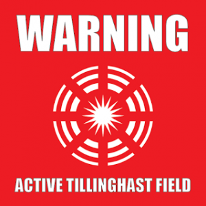 Tillinghast Field Sticker